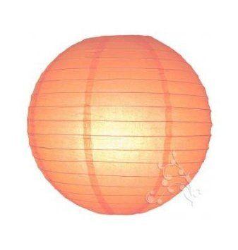 Lampioncino cinese a sfera, 40 cm, colore: Pesca: Amazon.it: Casa e cucina
