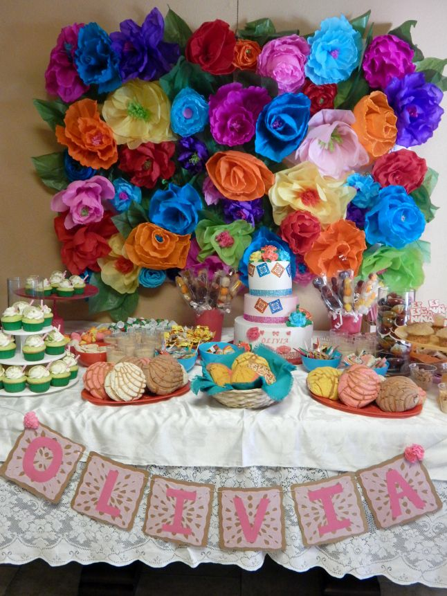Mexican themed baby shower. They really went all out.