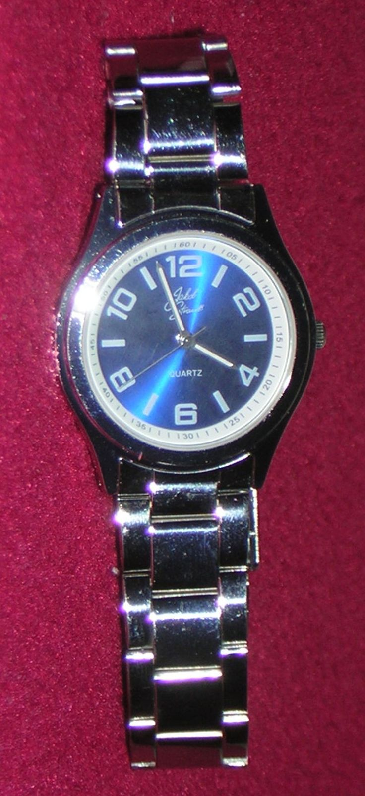 Jakob Strauss Blue Dial Bracelet Strap Watch
