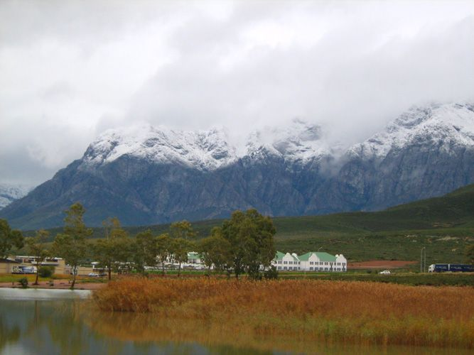 Snow in Worcester (Thanks to Pam from Cape Rose Cottage in Camps Bay