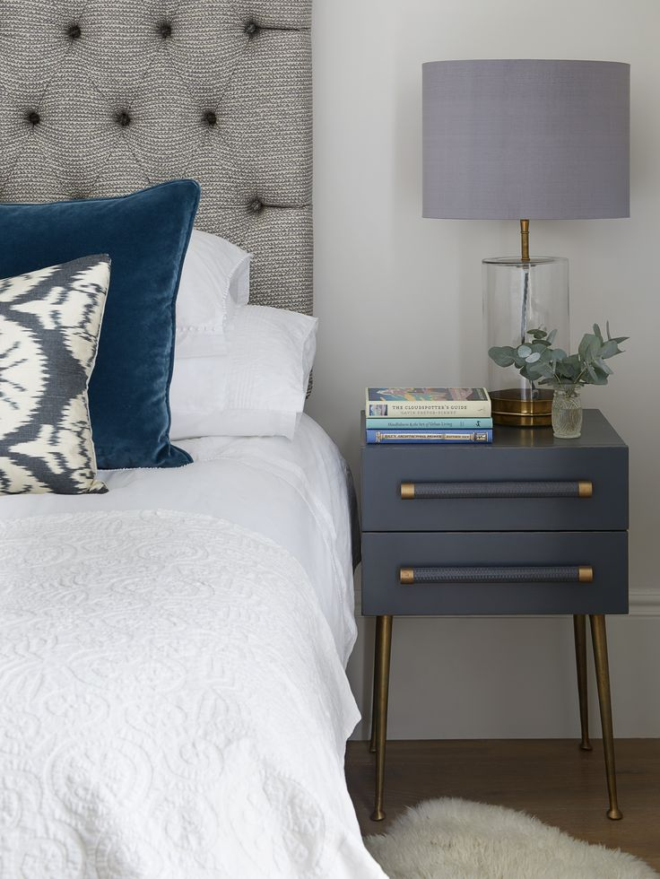 Westbourne Grove Townhouse Master Bedroom.  Designed by Talia Cobbold http://www.taliacobbold.com/