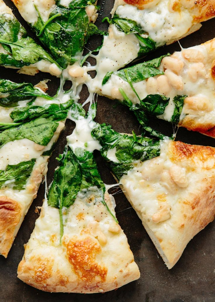 Spinach, White Bean, and Taleggio Pizza: Taleggio Pizza, White Beans ...