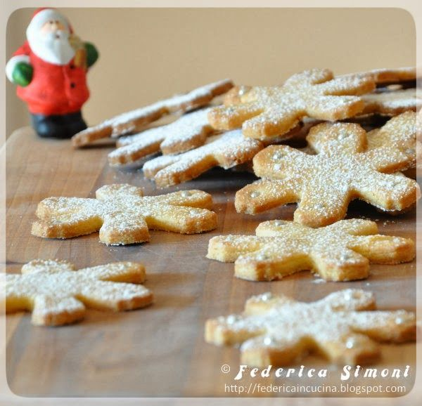 La cucina di Federica: Fiocchi di neve alle mandorle