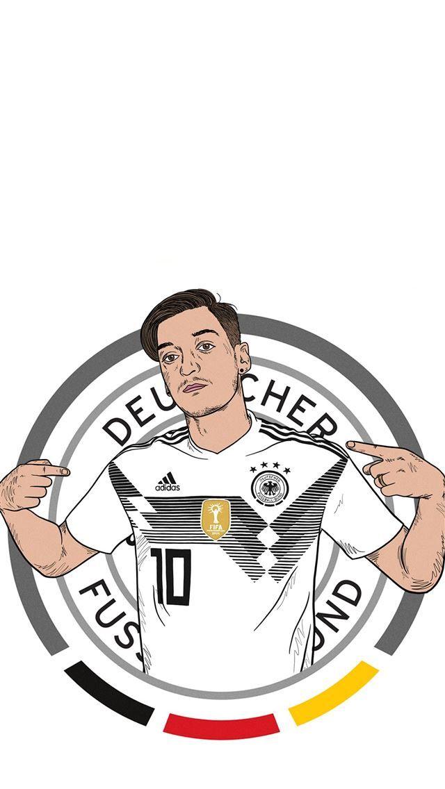 Mesut Ozil Germany Gunners Mesutozil Sportcelebrity Soccercelebrity Germany Iphone Wallpaper Wallpaper Mesut Ozil