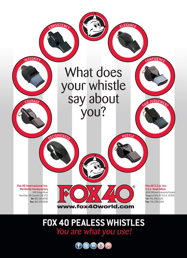 Referee Magazine Ad Published in the April 2014 Issue