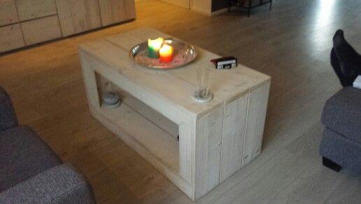 #steigerhout #salontafel #selfmade