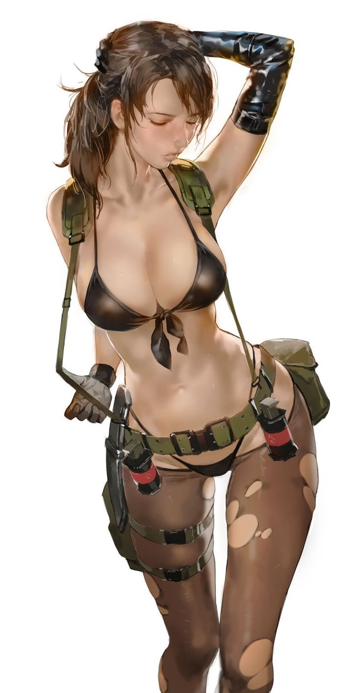 Metal Gear, Quiet, by yang-do