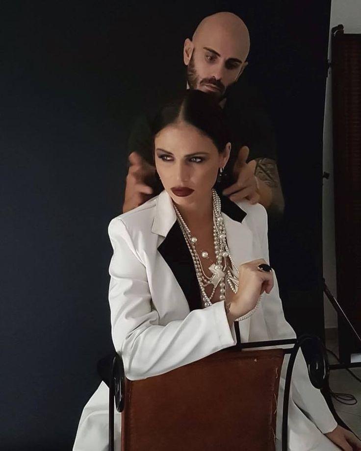 Christine&Joe backstage fashion editorial shooting