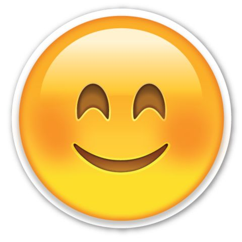 Smiling Face with Smiling Eyes | EmojiStickers.com