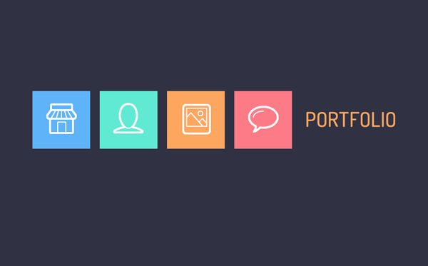 How To Create a Trendy Flat Style Nav Menu in CSS - Coding, Tutorials - Fribly