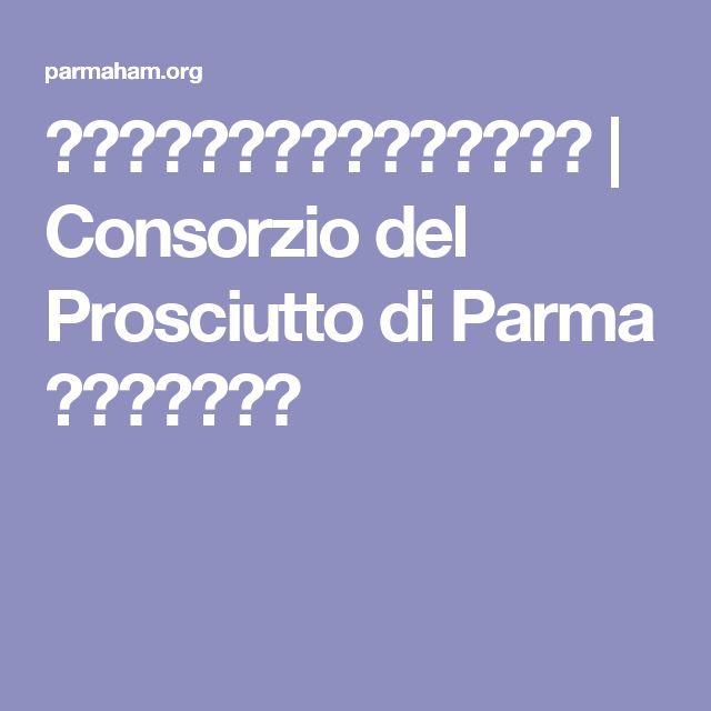 パルマハムのせ、和薬味の夏素麺 | Consorzio del Prosciutto di Parma パルマハム協会