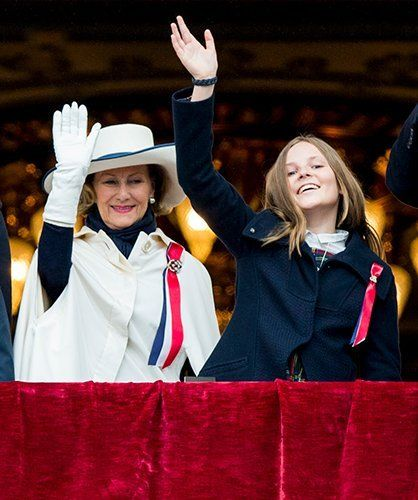 Newmyroyals:  National Day 2017, May 17, 2017-Queen Sonja and Princess Ingrid Alexandra