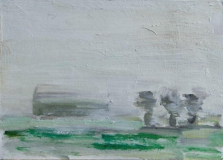 oil on paper; 15x20 cm | www.lotjemeijknecht.nl