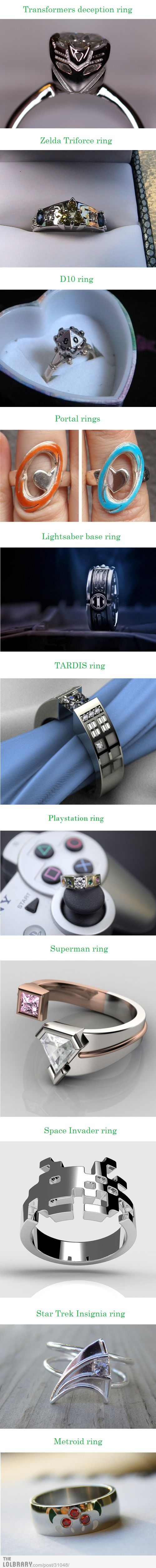Coolest Rings Ever!