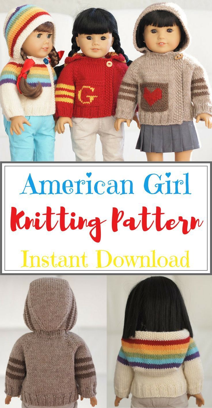 18 Super Cute Diy Valentines Crafts For Kids: Super Cute Knitting Pattern For 18 Inch Dolls. I Want To