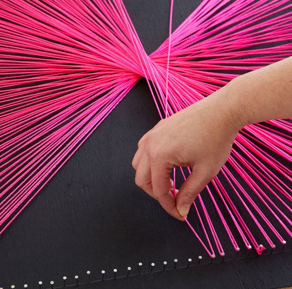 95 best string art images on pinterest spikes string art and diy string wall art prinsesfo Gallery