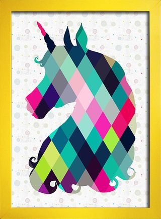 Poster Unicorn na internet