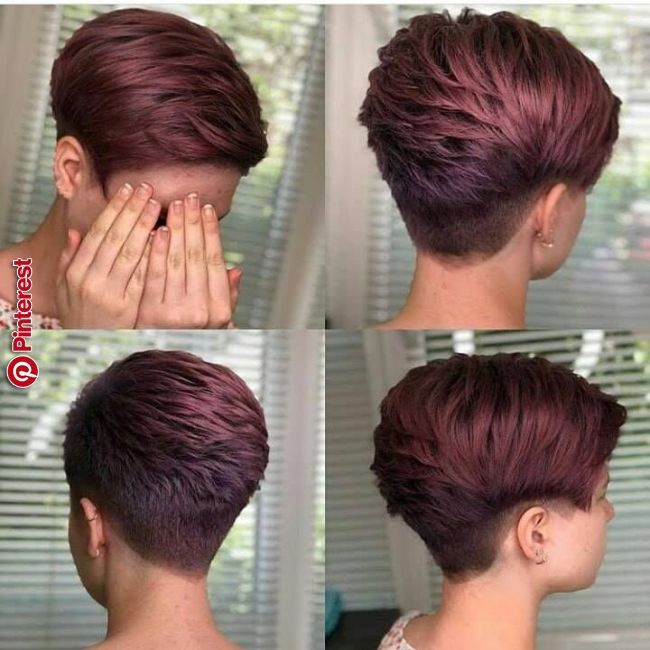 Pin By Lanette On Hair Hair Styles Short Hair Styles Pixie Haircut For Thick Hair
