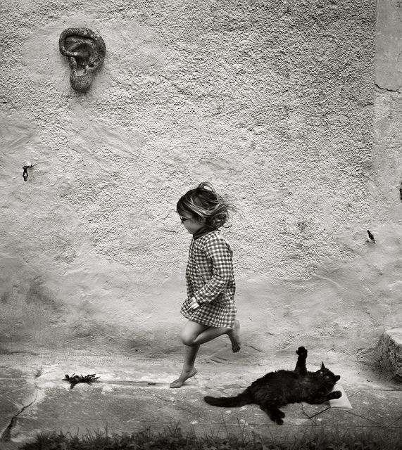 by Alain Laboile, 2013...but WHY is there an ear on the wall?