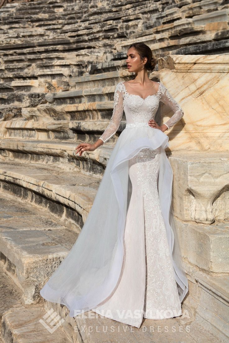 Wedding Dress from Europe in Charmé Gaby Bridal Gown boutique Clearwater FL $1200.00