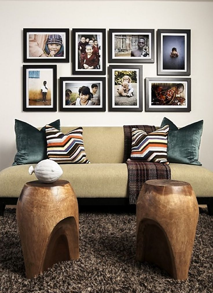 Picture Hanging Ideas Over Sectional Couch Take This