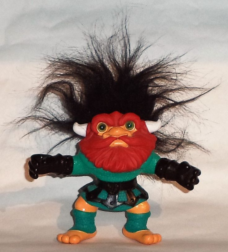Trollaf, Battle Trolls, Hasbro 1992.