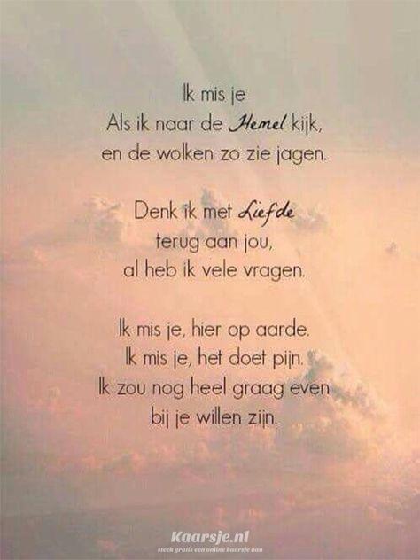 Een gedicht van Kaarsje.nl