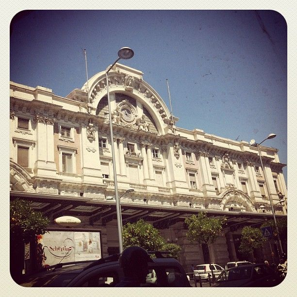 Stazione Napoli Mergellina nel Napoli, Campania
