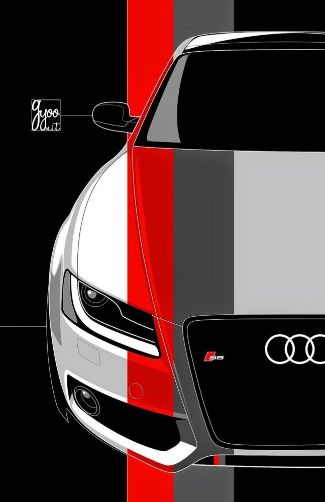 Automotive Art by George Yoo at Coroflot.com