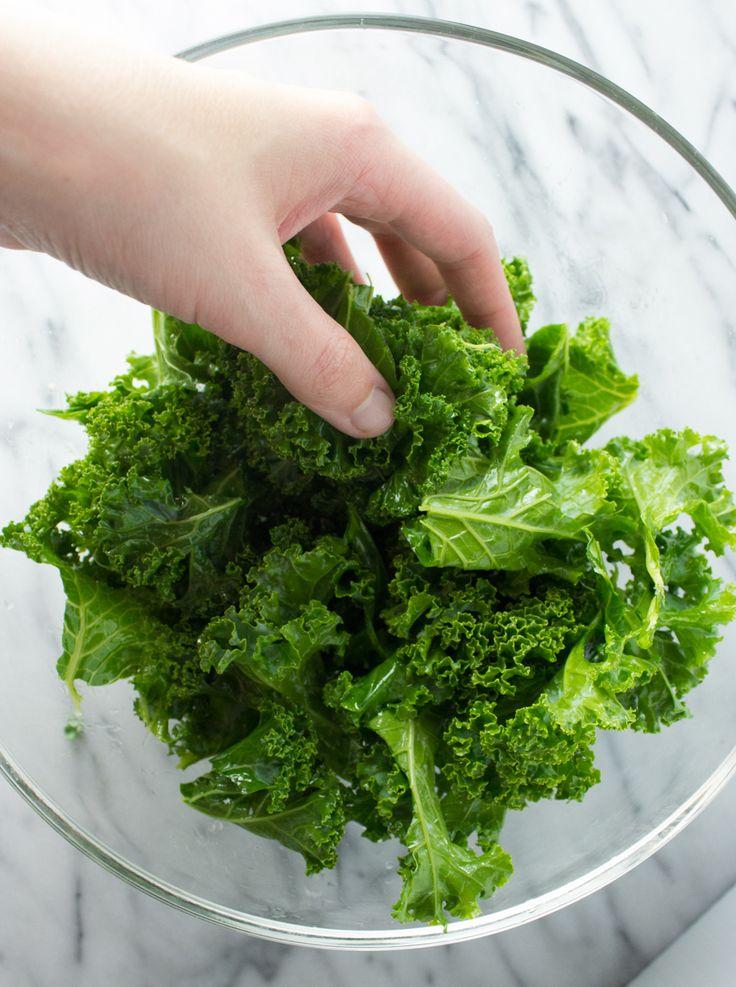 Sea salt & vinegar kale chips | Recipe | Kale Chips, Kale and Vinegar