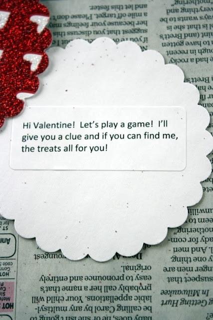 Valentines Scavenger Hunt Arts Amp Crafts DIY