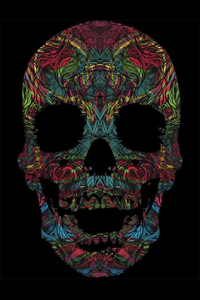 Best 25 cool backgrounds ideas on pinterest cool iphone - Skull wallpaper iphone 6 ...