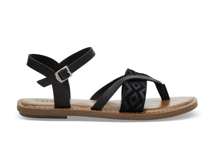 Perfect for summer days or warm destinations, the Lexie's embroidered strap adds effortless detail to the gladiator-inspired sandal.