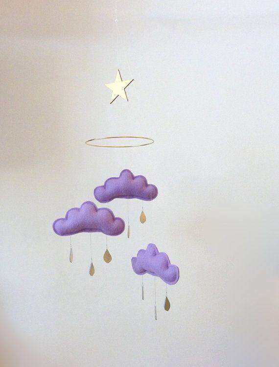 cloud mobile for nursery