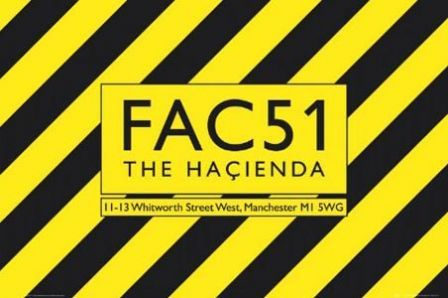 "The Hacienda - the epicentre of Acid House. All that's still to see of the club is the FAC51 marker stone. This poster was designed by eminent graphic designer and Mancunian Peter Saville. Mark Radcliffe once said, ""Tables in Manchester are for dancing on"". That sums up the attitude of the city and its people for me."