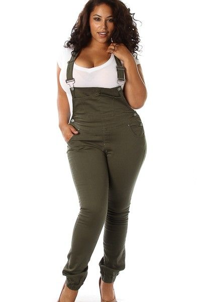 10 Best images about Overall Fashion: Plus Size Edition on ...