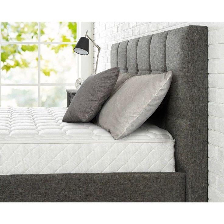 8 Inch King Size Mattress Coil Springs Comfortable Sleep Adjusts To Body Shape #8InchKingSizeMattress