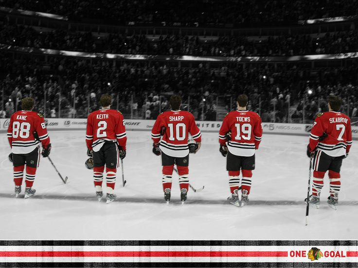 Classic red, black and white - Chicago Blackhawks