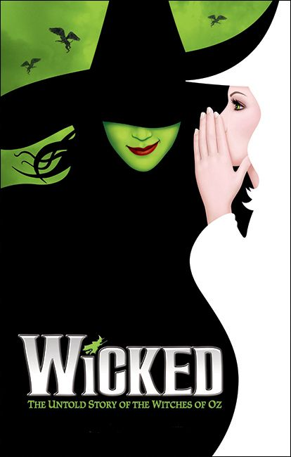 Wicked the Musical Broadway Poster