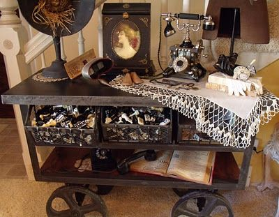102 best images about steampunk victorian decor on for Industrial punk design