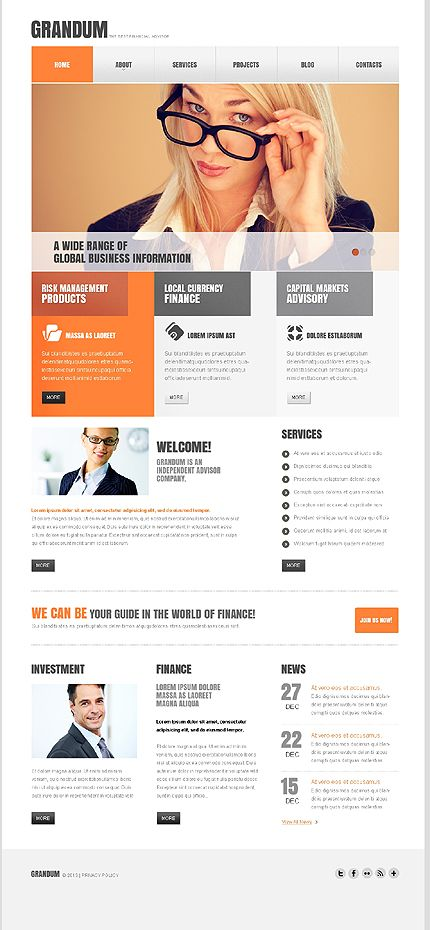 72 best business website templates images on pinterest business corporate wordpress website themes and templates accmission Images