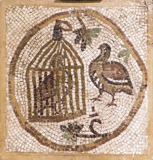 Hagia Sophia  — 6th century Byzantine mosaic, Madaba, Jordan.