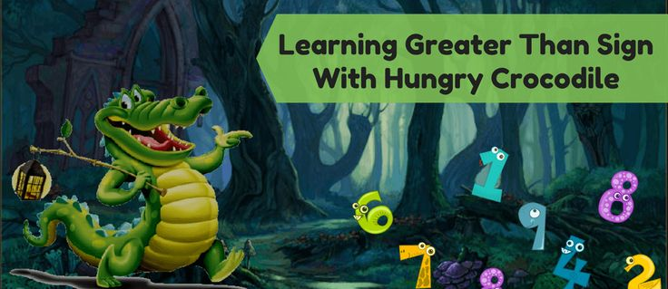 Struggling to keep your kindergartner buzy? Check out these Math games to help them learn greater than sign with hungry crocodiles! FREE Printable inside!