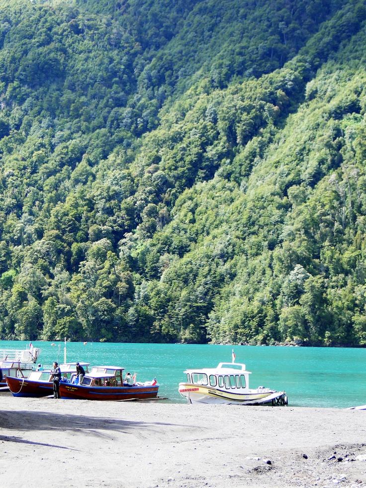 Lago todos los Santos, Chile.