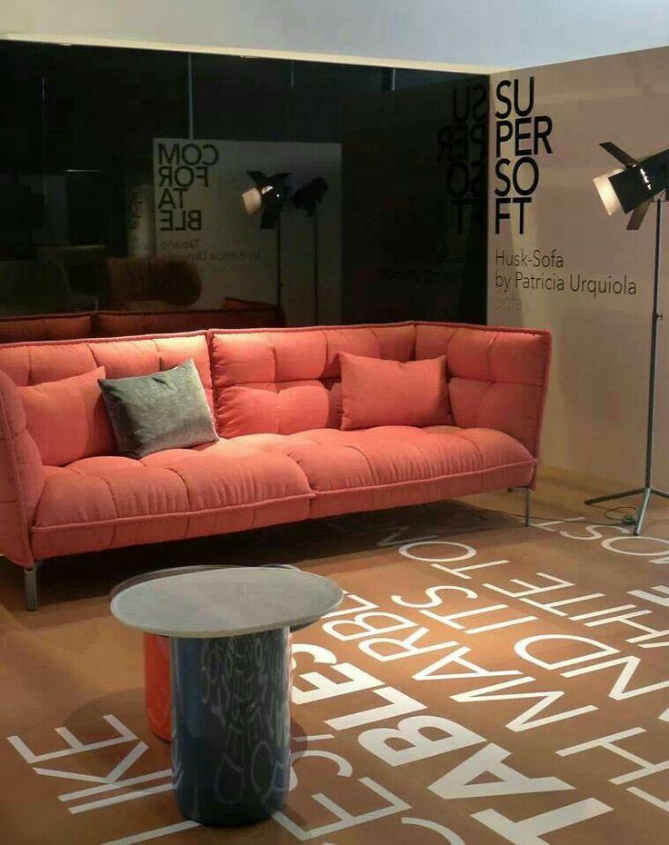 Focus on bebworld new husk sofa design by patricia - Patricia urquiola sofa ...