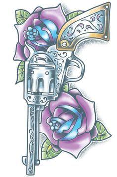 Pistola Tattoo #t4aw #pistola #tattoo