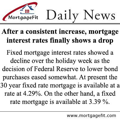 fixed rate mortgage for bad credit