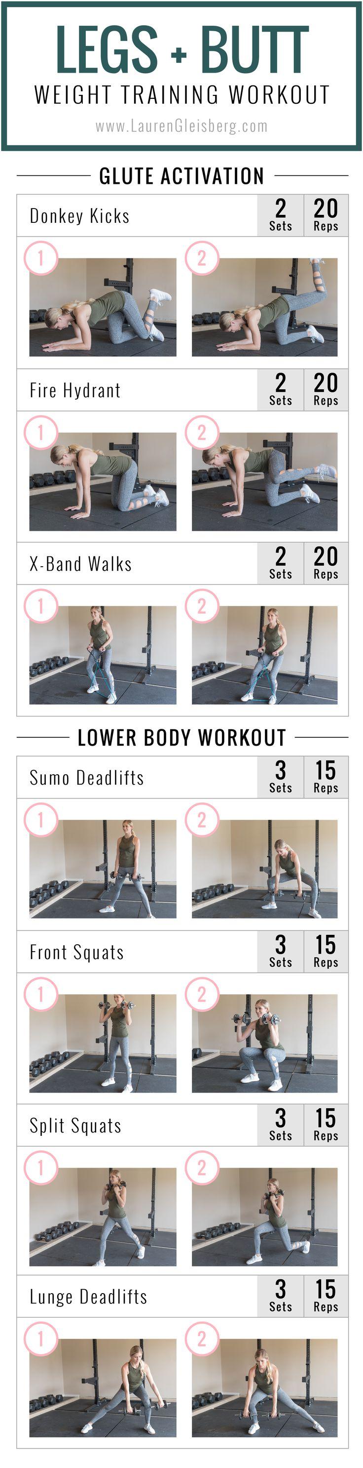 LEG + BUTT WORKOUT   Fitmas Challenge Week 2 Day 2 by LaurenGleisberg.com