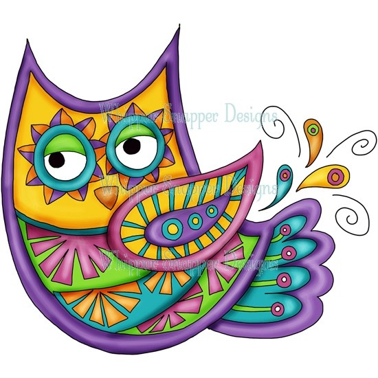 'Mosaic Owl' from Whipper Snapper Designs
