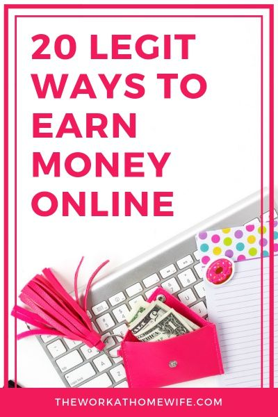 20 Legitimate Ways to Earn Money Online